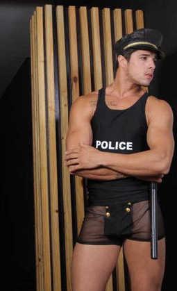 Imagem de Fantasia Policial Americano