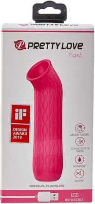 Imagem de FORD - Mini Estimulador Feminino com 12 Modos de Sucção